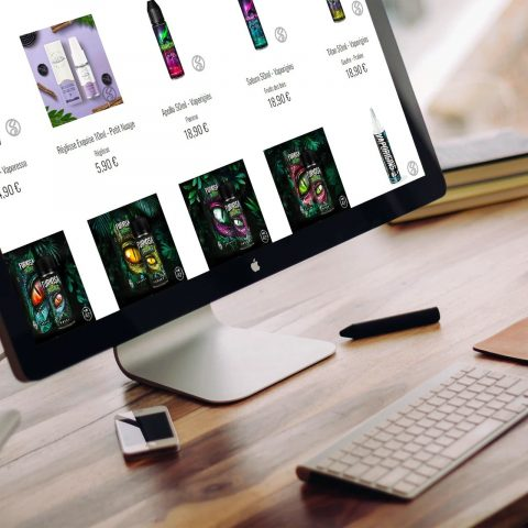 Site ecommerce vapote